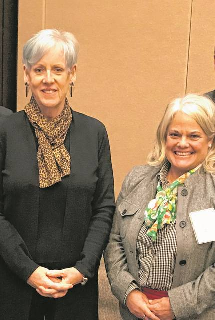 On Thursday, Dec. 5 Preble County Juvenile Judge Jenifer Overmyer was sworn in by Chief Justice Maureen O'Connor of the Ohio Supreme Court as the Vice President of the Ohio Association of Juvenile Court Judges.