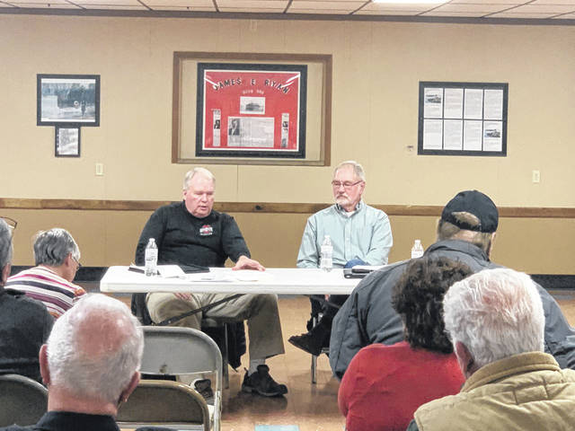 A group of concerned citizens came together on Thursday, Jan. 30 to discuss proposed Sewer District Six (SD6), the Quaker Trace Mobile Home Park (MHP), and possible legal action. The meeting was led by citizen Jerry Wick and attorney Jack Van Kley.