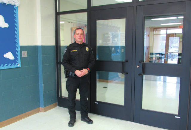 New security doors were installed at the main entrances of Camden and West Elkton elementary schools. Now visitors to those schools will have to interact with office personnel and possibly even School Resource Officers before entering.
