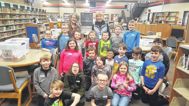 """National Trail Elementary kicked off its pilot """"Discover Days"""" program on Thursday, Jan. 30. The program is meant to build relationships between grade levels and between students and teachers not currently in class together, according to school administrators."""