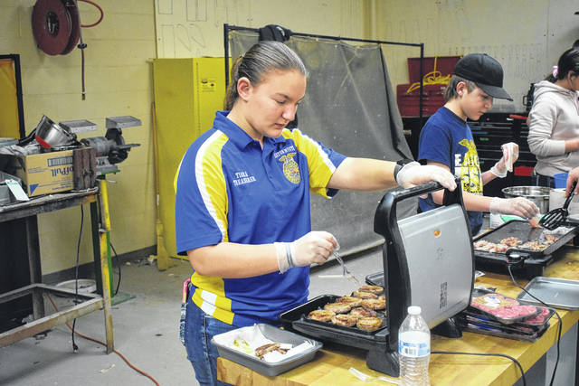 National FFA Week kicked off on Saturday, Feb. 22, but Eaton Miami Valley Career Technology Center (MVCTC) FFA Chapter members celebrated throughout the week. One way they did this was with a staff and faculty appreciation breakfast on Wednesday, Feb. 26.
