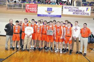 Trail ends season with district final setback