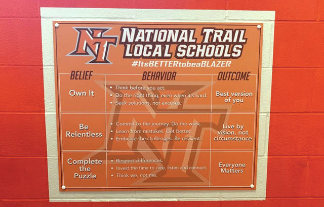 National Trail School District is off and running with online instruction, administrators said at the district's monthly Board of Education meeting Monday, March 23.