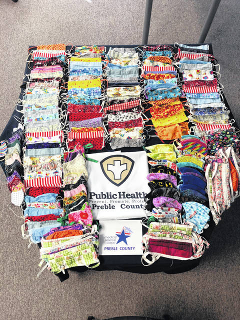 """The Preble County Medical Reserve Corps (MRC) is asking the community to donate fabric masks for first responders, healthcare workers, and Preble County Council on Aging in an outreach called """"Mission: Masks."""""""