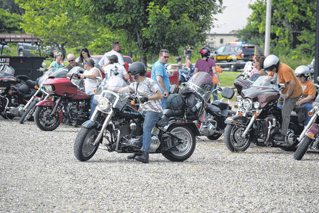 As summer approaches, motorists should be aware of an increase in motorcycles on the roadways. Pictured, 2018's Bridges, Bikes & Blues event brought bikers out to tour Preble County.