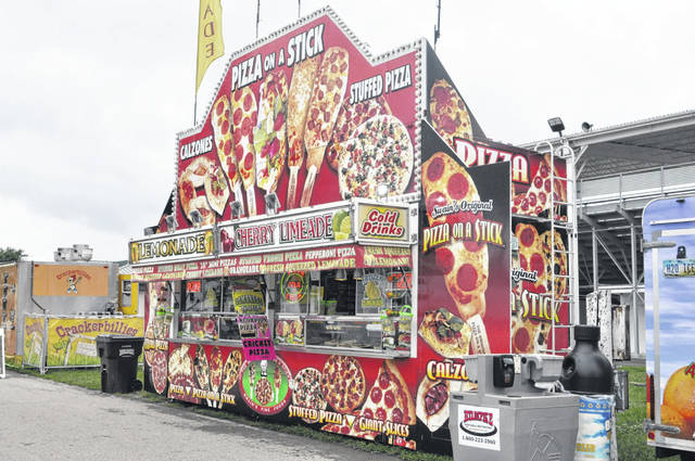 Pizza on a Stick is new at this year's fair.
