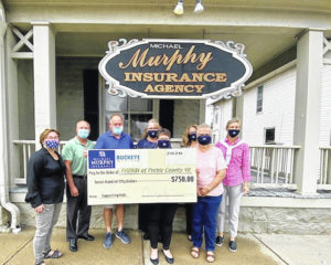 Murphy Insurance donates to Friends of PC 4-H