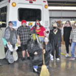Preble County Council on Aging holds Halloween drive-thru