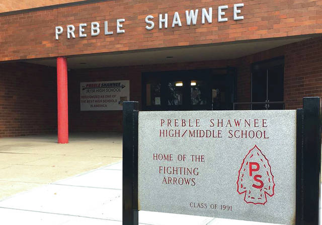 Preble Shawnee High School has suspended in-person classes for two weeks due to COVID-19. National Trail and Eaton have also had positive tests.