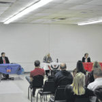 Commissioner candidates discuss issues in town hall