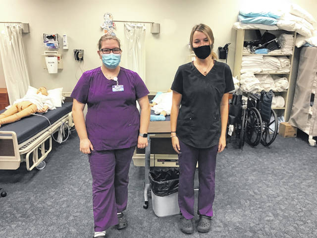 Miami Valley Career Technology Center would like to congratulate the senior Health Occupations students for earning their State Tested Nursing Assistant (STNA) Certification: Brittanie Smith (Preble Shawnee) and Sydnee Stamper (Preble Shawnee)