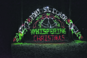 Whispering Christmas moving ahead, White Christmas canceled