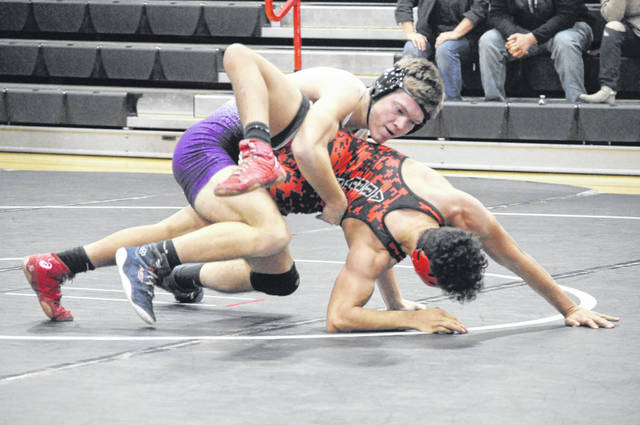 Eaton picked up a win in a dual meet against Preble Shawnee on Wednesday, Jan. 20.
