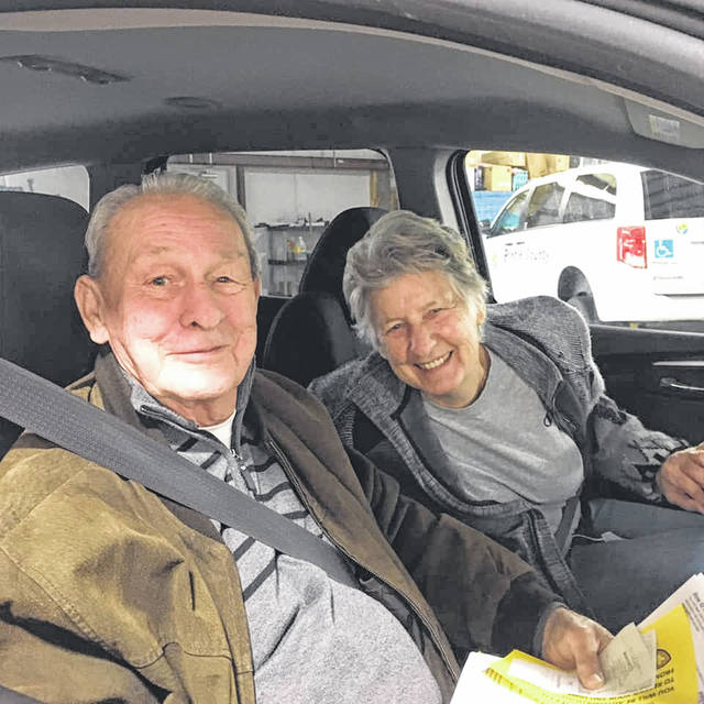 Drive Thru Thursdays are held from 2-3 p.m. at the Senior Center.