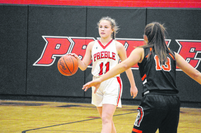 Preble Shawnee sophomore Campbell Jewell and the Arrows will take on Bethel on Saturday, Feb. 13 at 1:30 p.m. at Northridge High School.
