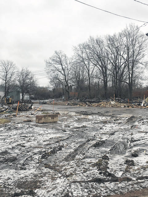 The trailer park in Glenwood was torn down in January.