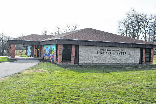 The Preble County Art Association's building sits on county-owned land.