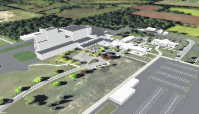 A schematic of the Lewisburg facility expected to break ground in May 2021.