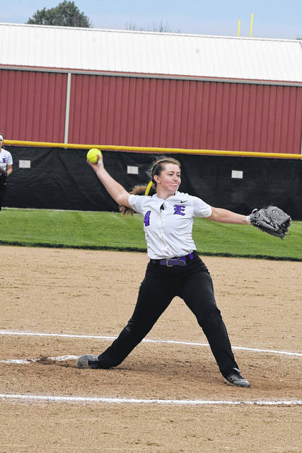 Senior Erika Wilkinson will take over the pitching duties for Eaton this spring as the Eagles seek their first league and district titles.