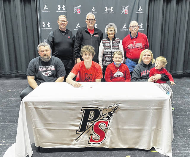 Bryce Singleton, Preble Shawnee's second all-team leading scorer, has committed to play college basketball and further his education at Miami University-Hamilton next season.