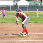 North softball downs South