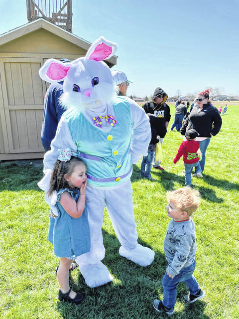 Isabelle Guehring goes on the hunt for Easter eggs.
