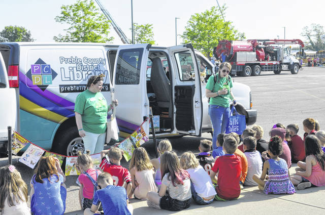Hollingsworth East Elementary held a vehicle-based Career Day on Thursday, May 20. Students learned about different careers during 12 presentations.