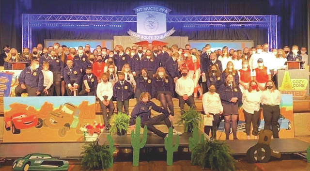 Numerous students and teams were recognized and received awards during the National Trail Local School District FFA Chapter's annual banquet on Wednesday, May 12.
