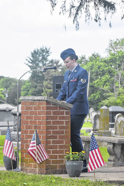 The Village of Gratis last honored the holiday by hosting a parade and then a ceremony at Fairview Cemetery on Sunday, May 26, 2019.