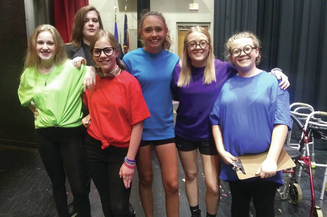 Residents enjoyed a one-act play directed by a graduate with an extensive theatre background in the Preble Shawnee Junior and Senior High auditorium on Friday, May 21.