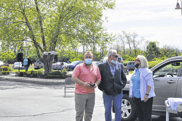 The Preble County Council on Aging hosted a Senior Day drive-thru event on Tuesday, May 11.