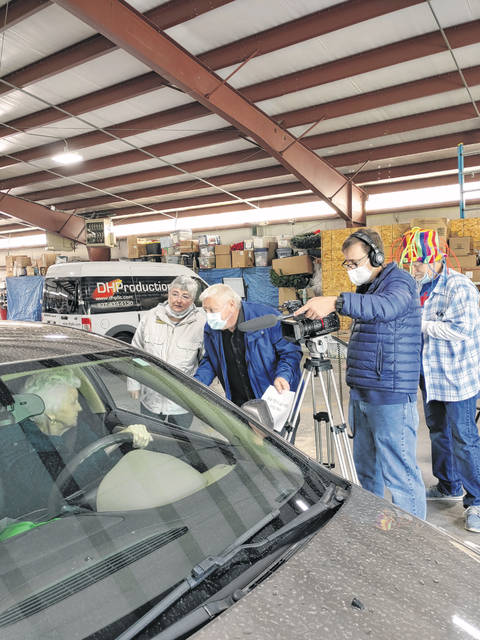 The Preble County Senior Center celebrated Senior Day on Tuesday, May 11, with drive-thru festivities.