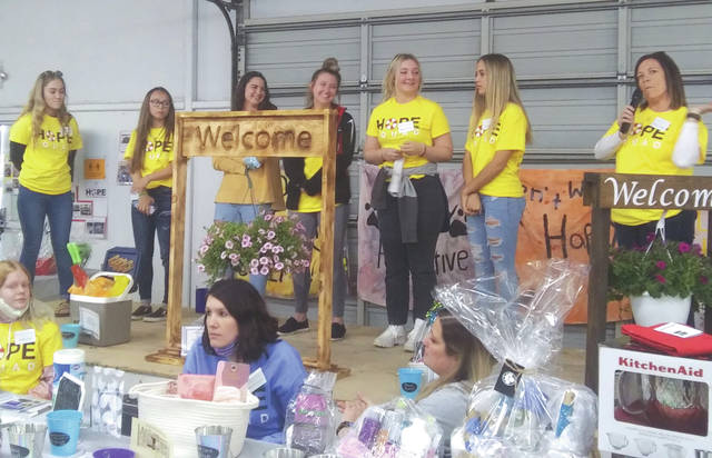 Students from several local high schools held the second annual HOPE Fair at the Preble County Fairgrounds Friday, May 7. The event is intended to spread awareness about suicide prevention and other mental health issues.