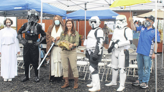 Wild Hearts' groundbreaking on Tuesday, May 4 also marked Star Wars Day across the globe.
