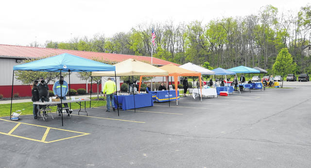 A job fair held in the Village of Lewisburg on Thursday, May 6, gave Tri-County North High School juniors and seniors the opportunity to meet with representatives from several Lewisburg businesses and organizations in hopes of leading them into a local career.