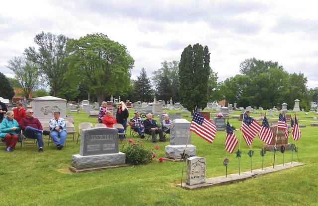 Veterans, village officials and other local residents celebrated Memorial Day by paying their respects to members of the U.S. Armed Forces who made the ultimate sacrifice in service to their country on Sunday, May 30.
