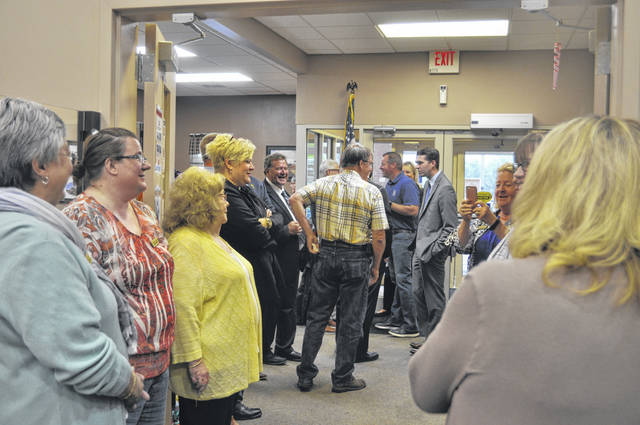 Seniors and community leaders were invited to the Preble County Council on Aging's Senior Center for its grand reopening on Wednesday, June 2.