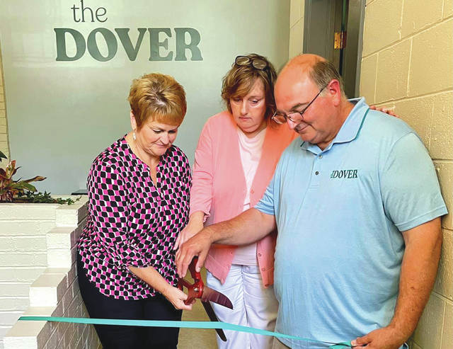 Village of Camden officials and others were present as a former Methodist church began its second phase of life as a 13,000 sq ft event center, meeting venue and retail space on Saturday, June 19.