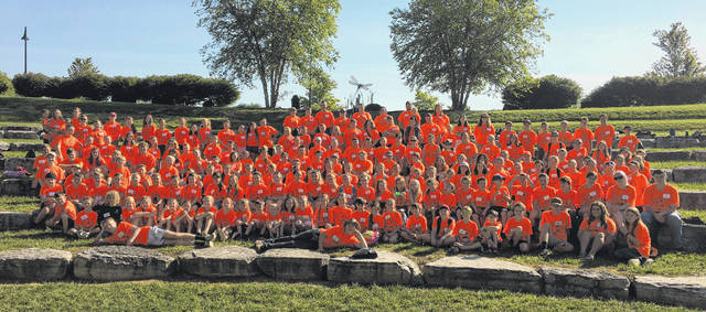 155 energetic campers ranged from 7 to 12 years of age during this year's PSWCD Conservation Day Camp.