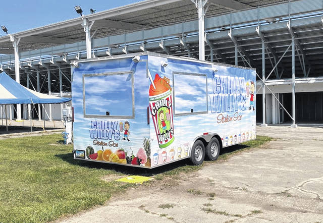 Food trucks are in place for the 171st Preble County Fair beginning Saturday, July 31, and lasting through Saturday, Aug. 7.