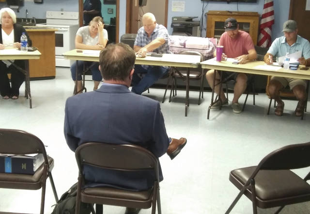 West Alexandria council discussed policy regarding overdue utility bills and efforts to reduce legal expenditures during its regular monthly meeting Monday, Aug.16.