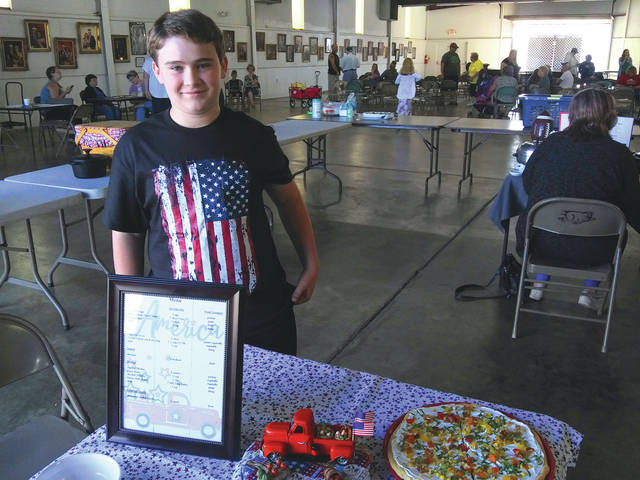 Junior Fair 2021 food exhibitors showed off their culinary and presentation skills during this year's Food Show 4-H Cook-off and 4-H Mystery Mixer.