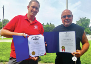 Flag ceremony marks commencement of 2021 Preble County Fair