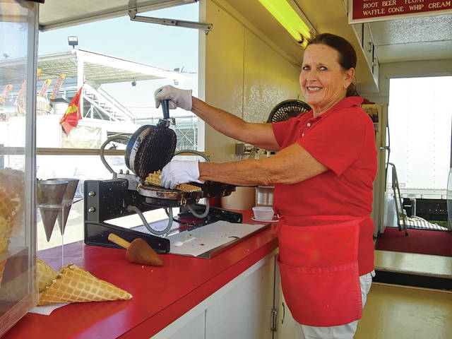 Food service workers and concessionaires at the Preble County Fairgrounds say that business at this year's fair has been even better than it was before COVID-19.