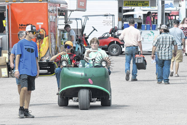 The Preble County Fairgrounds were packed this year after spectators were not allowed in 2020.