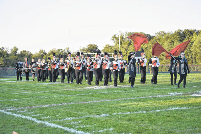 Preble Shawnee took down Mississinawa Valley 48-7 on Friday, Sept. 24, to move to 6-0 on the season.