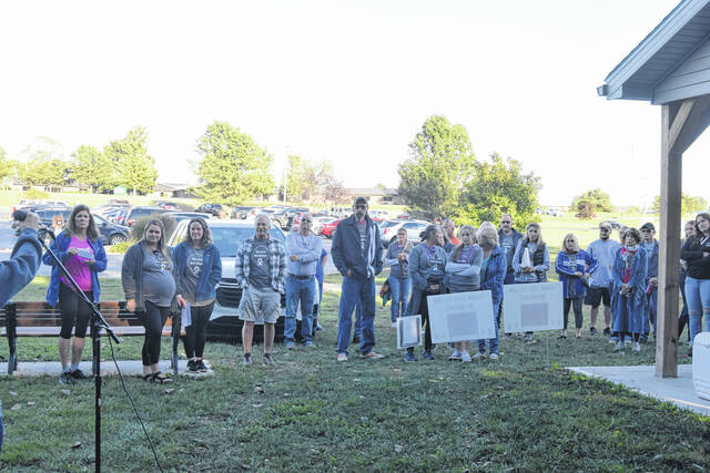 The Preble County Mental Health and Recovery Board and Preble County Suicide Coalition hosted the 10th Annual Walk to Remember, Walk for Hope Suicide Awareness 5K on Saturday, Sept. 25 at Seven Mile Park in Eaton.
