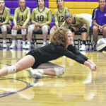 Eagles defeat Waynesville in straight sets