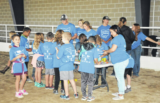 On Thursday, Sept. 30, third-grade Ag-STEM (Science, Technology, Engineering & Math) Day gave Preble County third grade students the opportunity to learn about several agriculture-based careers available to them once they've graduated from high school.