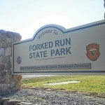 No E. coli at Forked Run State Park